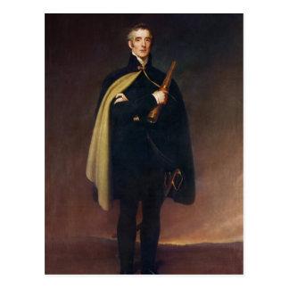 Cartão Postal Duque de Arthur Wellesley de Wellington