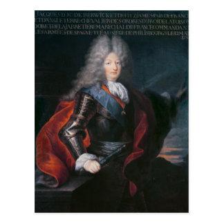 Cartão Postal Duque de James Stuart Fitzjames ø de Berwick