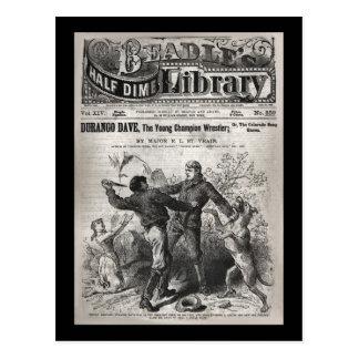 Cartão Postal Durango Dave - biblioteca 1904 da moeda de dez