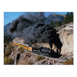 Cartão Postal Durango e estrada de ferro de Silverton, no. 481,