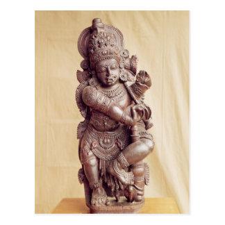 Cartão Postal Durga, de India do sul