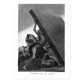 Cartão Postal E ainda não irã0 por Francisco Goya