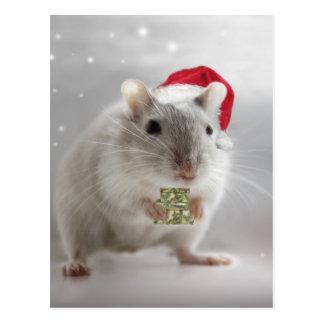 Cartão Postal É aqui pouco presente do Natal para você xxx