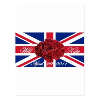 Cartão Postal E edição limitada de Kate 2011 comemorativa