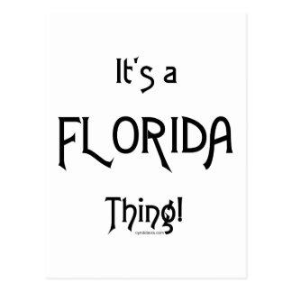 Cartão Postal É uma coisa de Florida!