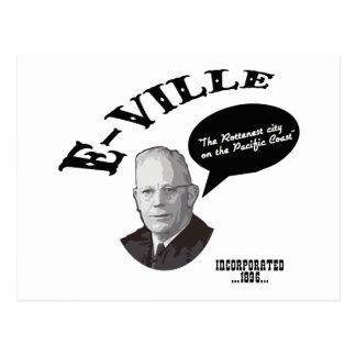 Cartão Postal E-Ville - Emeryville Califórnia