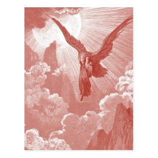Cartão Postal Eagle por Gustave Dore