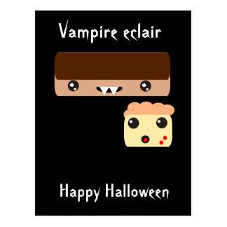 """Cartão Postal Eclair """"o Dia das Bruxas feliz """" do vampiro"""
