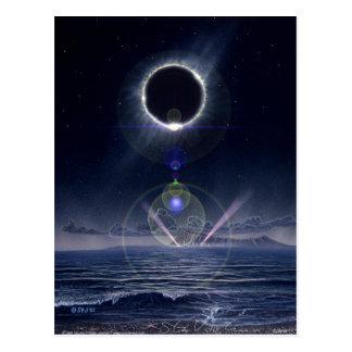 Cartão Postal Eclipse
