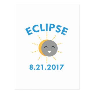 Cartão Postal Eclipse 2017