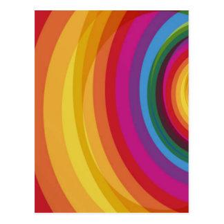Cartão Postal Eclipse do arco-íris