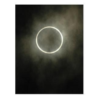 Cartão Postal Eclipse solar anular