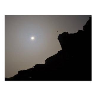 Cartão Postal Eclipse solar Cornualha 2015 Inglaterra