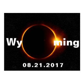 Cartão Postal Eclipse solar de Wyoming