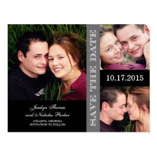 Cartão Postal Economias da colagem do noivado o anúncio da data