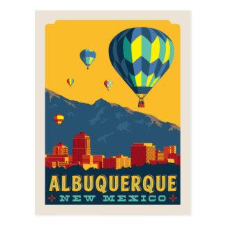 Cartão Postal Economias de Albuquerque, New mexico   a data