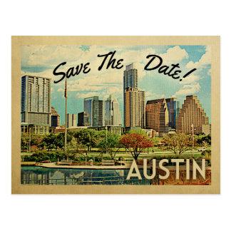 Cartão Postal Economias de Austin a data Texas