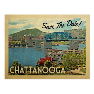 Cartão Postal Economias de Chattanooga a data Tennessee