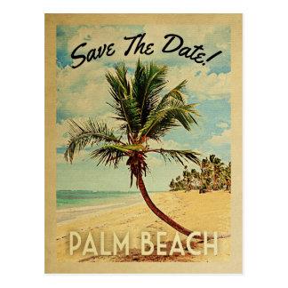 Cartão Postal Economias de Florida do Palm Beach o vintage da