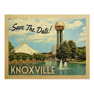 Cartão Postal Economias de Knoxville a data Tennessee