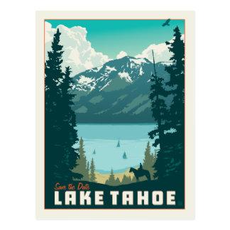 Cartão Postal Economias de Lake Tahoe | a data