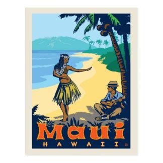 Cartão Postal Economias de Maui, Havaí | a data