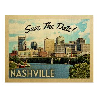 Cartão Postal Economias de Nashville a data Tennessee