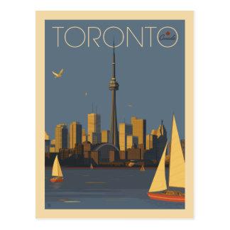 Cartão Postal Economias de Toronto Canadá | a data