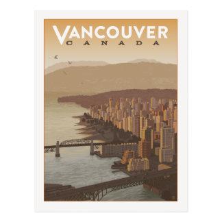 Cartão Postal Economias de Vancôver Canadá | a data