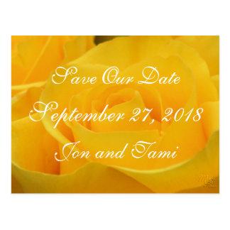 Cartão Postal Economias do rosa amarelo 1915 a data ou alguma