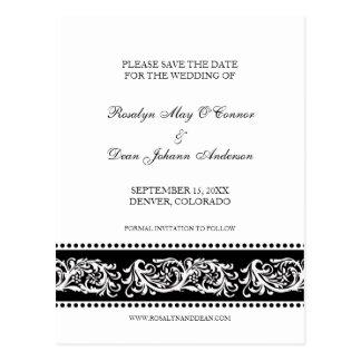 Cartão Postal Economias feitas sob encomenda do casamento do