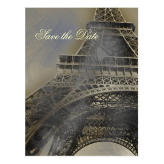 Cartão Postal Economias francesas parisienses do casamento da