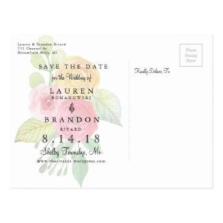 Cartão Postal Economias rústicas do chique a data