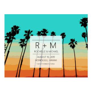 Cartão Postal Economias tropicais do casamento dos céus do por