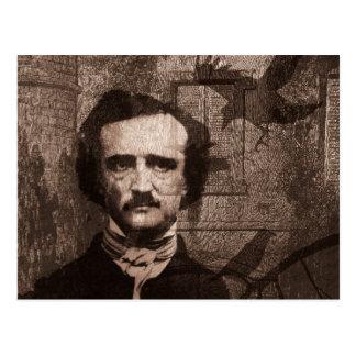 Cartão Postal Edgar Allan Poe