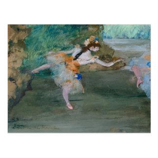 Cartão Postal Edgar Degas - dançarino em palco