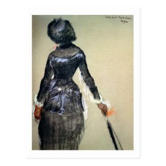 Cartão Postal Edgar Degas | Mary Cassatt no Louvre