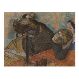 Cartão Postal Edgar Degas - Milliner