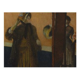 Cartão Postal Edgar Degas - no Milliner