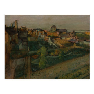 Cartão Postal Edgar Degas - vista do Saint-Valery-sur-Somme
