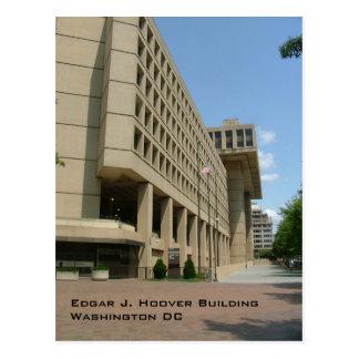 Cartão Postal Edgar J. Hoover Construção