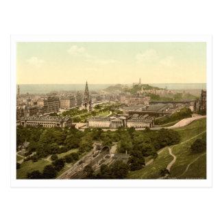 Cartão Postal Edimburgo do castelo, Scotland