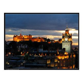Cartão Postal Edimburgo Scotland