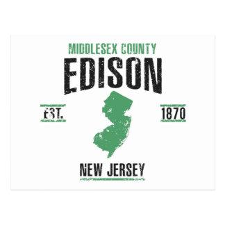 Cartão Postal Edison