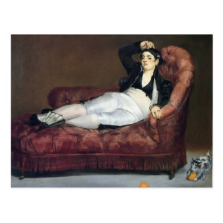 Cartão Postal Edouard Manet- o barque de Dante