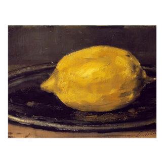 Cartão Postal Edouard Manet- o limão