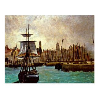 Cartão Postal Edouard Manet - o porto do Bordéus