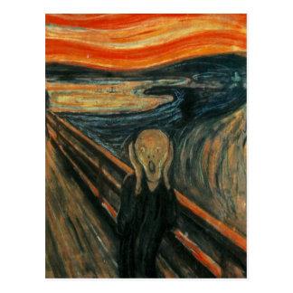 Cartão Postal Edvard Munch - o gritar