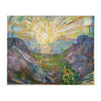 Cartão Postal Edvard Munch - The Sun, 1916