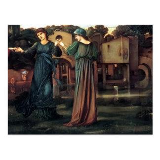 Cartão Postal Edward Burne-Jones o moinho